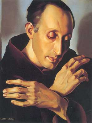 Tamara de Lempicka, Saint Anthony Fine Art Reproduction Oil Painting
