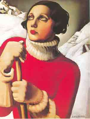 Tamara de Lempicka, St Morritz Fine Art Reproduction Oil Painting