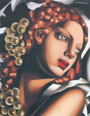 Tamara de Lempicka, The Brilliance Fine Art Reproduction Oil Painting