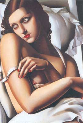 Tamara de Lempicka, The Convalescent Fine Art Reproduction Oil Painting