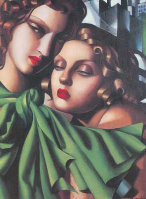 Tamara de Lempicka, The Girls Fine Art Reproduction Oil Painting