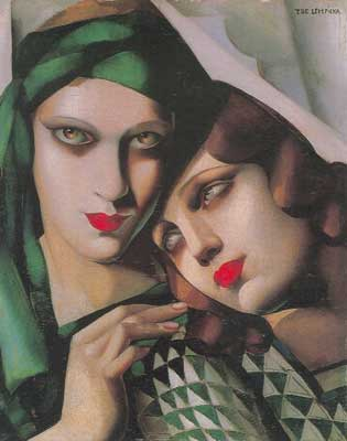Tamara de Lempicka, The Green Turban Fine Art Reproduction Oil Painting