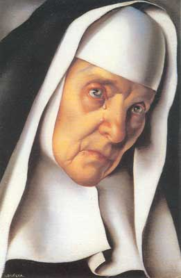 Tamara de Lempicka, The Mother Superior Fine Art Reproduction Oil Painting