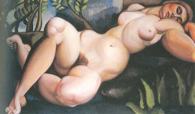 Tamara de Lempicka, The Sleeping Girl Fine Art Reproduction Oil Painting