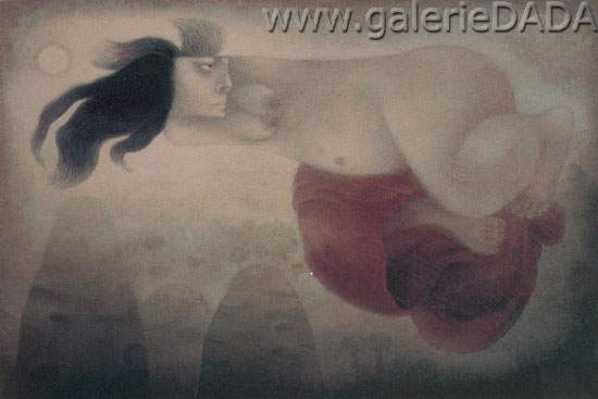 Tilsa Tsuchiya, Myths of the Dreams Fine Art Reproduction Oil Painting
