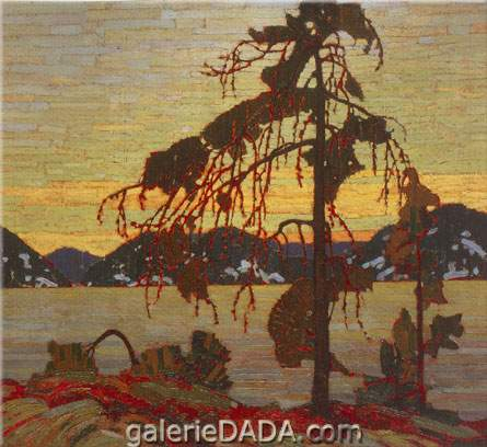 Tom Thomson, The Jack Pine Fine Art Reproduction Oil Painting