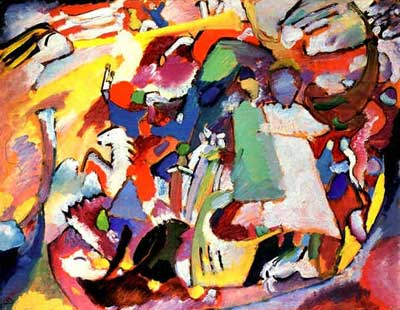 Vasilii Kandinsky, All Saints Day l Fine Art Reproduction Oil Painting