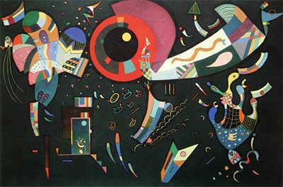 Vasilii Kandinsky, Around The Circle Fine Art Reproduction Oil Painting