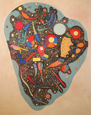 Vasilii Kandinsky, Colourful Ensemble Fine Art Reproduction Oil Painting
