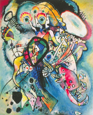 Vasilii Kandinsky, Composition 218 Fine Art Reproduction Oil Painting