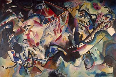 Vasilii Kandinsky, Composition VI Fine Art Reproduction Oil Painting