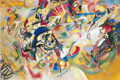 Vasilii Kandinsky, Composition VII Fine Art Reproduction Oil Painting