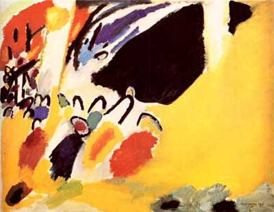Vasilii Kandinsky, Impression lll Concert Fine Art Reproduction Oil Painting