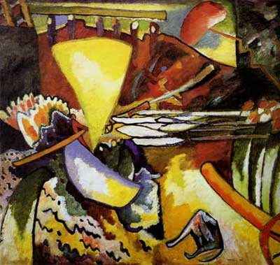 Vasilii Kandinsky, Improvisation 11 Fine Art Reproduction Oil Painting