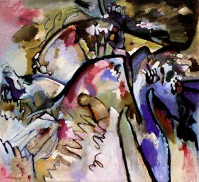 Vasilii Kandinsky, Improvisation 21A Fine Art Reproduction Oil Painting
