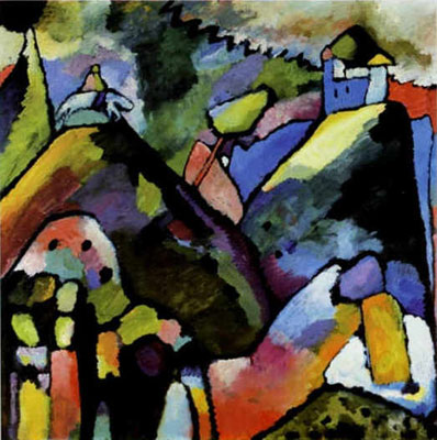 Vasilii Kandinsky, Improvisation 9 Fine Art Reproduction Oil Painting