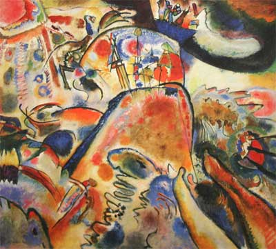 Vasilii Kandinsky, Small Pleasures Fine Art Reproduction Oil Painting