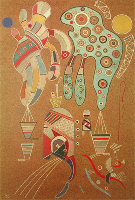 Vasilii Kandinsky, Untitled Fine Art Reproduction Oil Painting