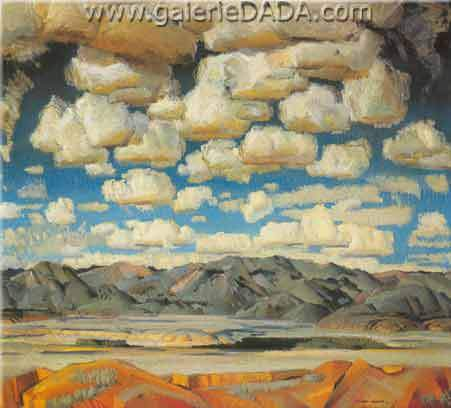Victor Higgins, Taos Valley Fine Art Reproduction Oil Painting