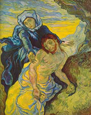 Vincent Van Gogh, Pieta Fine Art Reproduction Oil Painting