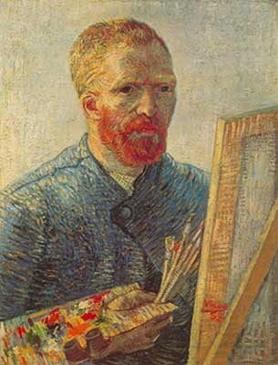 Vincent Van Gogh, Self-Portrait Fine Art Reproduction Oil Painting