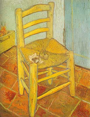 Vincent Van Gogh, The Chair and the Pipe Fine Art Reproduction Oil Painting