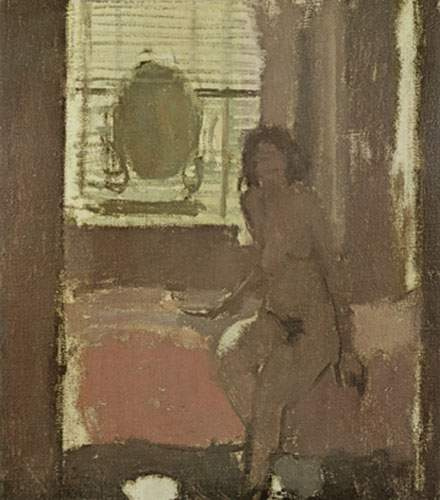 Walter Sickert, Morning Crescent Nude Fine Art Reproduction Oil Painting