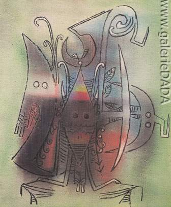 Wilfredo Lam, Composition Fine Art Reproduction Oil Painting