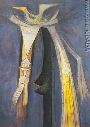 Wilfredo Lam, Femme Chaval Fine Art Reproduction Oil Painting