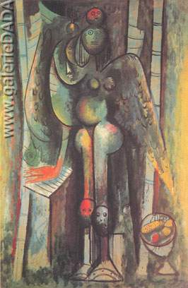 Wilfredo Lam, Morning Fine Art Reproduction Oil Painting
