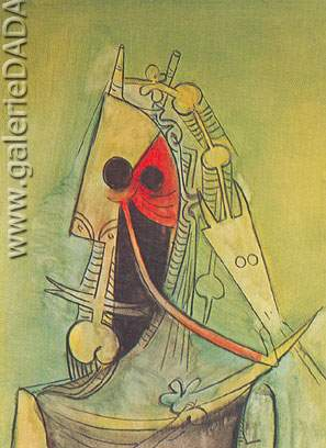 Wilfredo Lam, Pattern Fine Art Reproduction Oil Painting