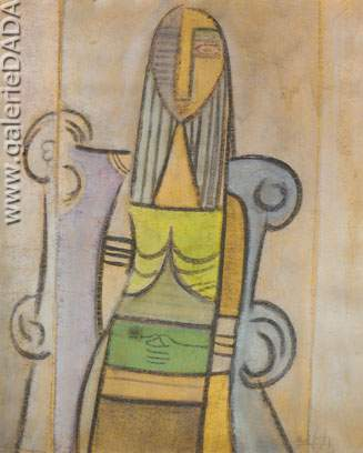 Wilfredo Lam, Untitled Fine Art Reproduction Oil Painting