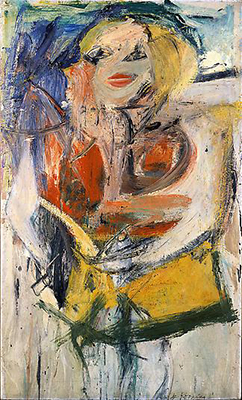 Willem De Kooning, Marilyn Monroe Fine Art Reproduction Oil Painting