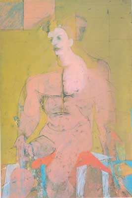 Willem De Kooning, Seated Figure Fine Art Reproduction Oil Painting