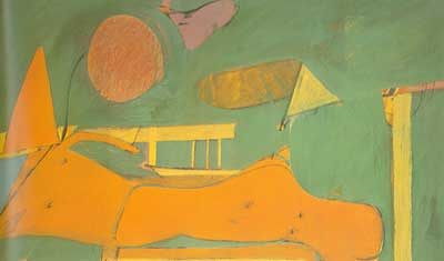 Willem De Kooning, Summer Coach Fine Art Reproduction Oil Painting