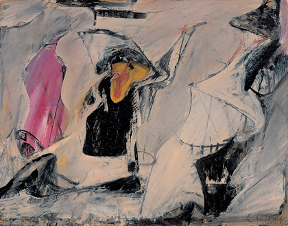 Willem De Kooning, Untitled Fine Art Reproduction Oil Painting
