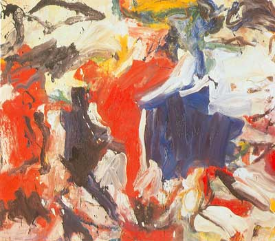 Willem De Kooning, Untitled V Fine Art Reproduction Oil Painting