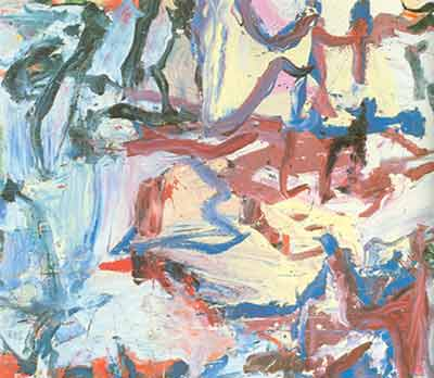 Willem De Kooning, Whose Name Was Writ in Water Fine Art Reproduction Oil Painting