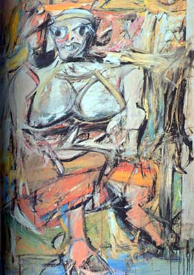 Willem De Kooning, Woman 1 Fine Art Reproduction Oil Painting