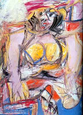Willem De Kooning, Woman IV Fine Art Reproduction Oil Painting