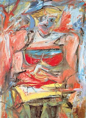 Willem De Kooning, Woman V Fine Art Reproduction Oil Painting