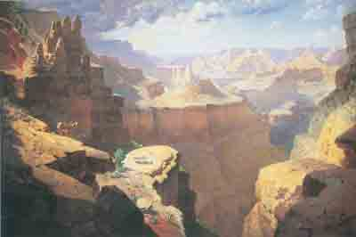 William Robinson Leigh, Grand Canyon Fine Art Reproduction Oil Painting