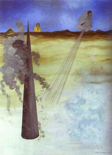 Yves Tanguy, I Came Fine Art Reproduction Oil Painting