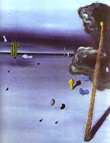 Yves Tanguy, Moma Fine Art Reproduction Oil Painting