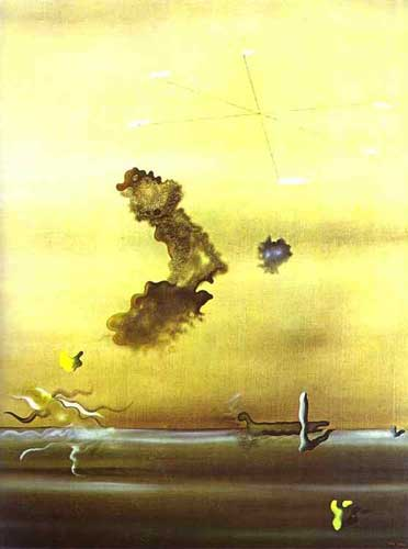 Yves Tanguy, Outside Fine Art Reproduction Oil Painting