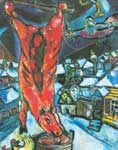 Marc Chagall, Flayed Ox Fine Art Reproduction Oil Painting