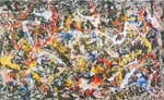 Jackson Pollock, Convergence Number 10 Fine Art Reproduction Oil Painting