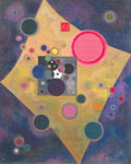 Vasilii Kandinsky, Accent in Pink Fine Art Reproduction Oil Painting