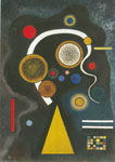 Vasilii Kandinsky, Moody Strokes Fine Art Reproduction Oil Painting