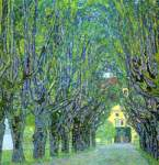 Gustave Klimt, Avenue in the Park of Schloss Kammer Fine Art Reproduction Oil Painting